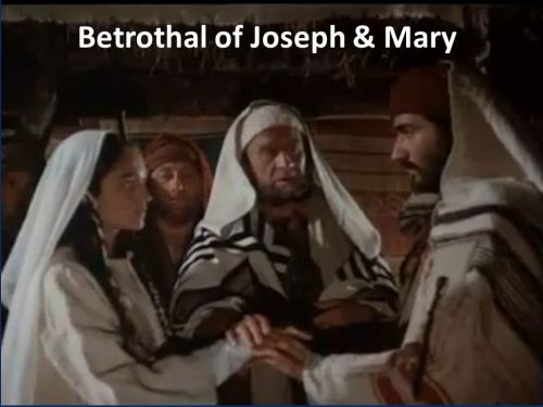 Betrothal of Joseph & Mary